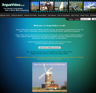 www.argusvideo.co.uk
