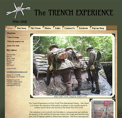 www.thetrenchexperience.co.uk